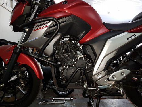Protetor Motor Kit Superior E Inferior Fazer 250 2018 Diante