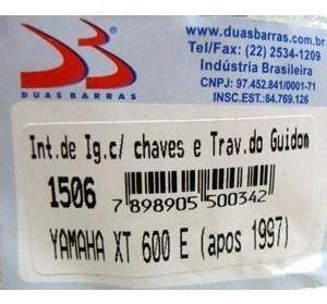 Chave Ignicao Yamaha Xt 600 1997/2004 Duas Barras