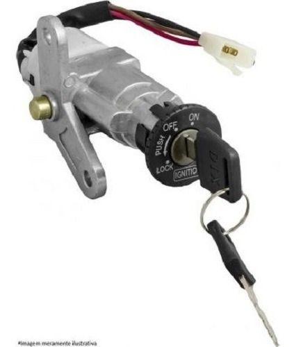 Chave Ignição Crypton 100 1998 Ate 2005