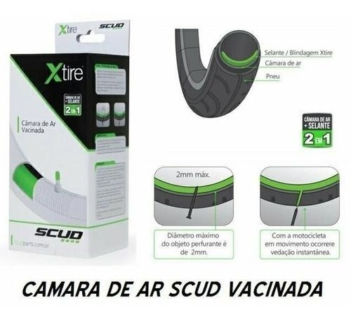 Par Pneu Cg Titan + Camaras Xtire Vacinada