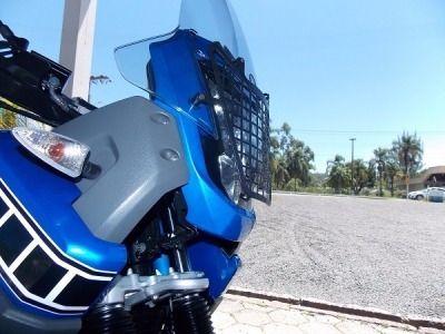 Protetor De Farol Modelo Grade Yamaha Xt 660 Z Tenere