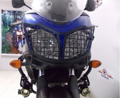 Protetor Farol Modelo Grade Suzuki V Strom 650