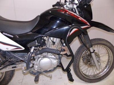 Protetor Motor E Carenagem Com Pedaleira Nxr Bros 150 Chapam