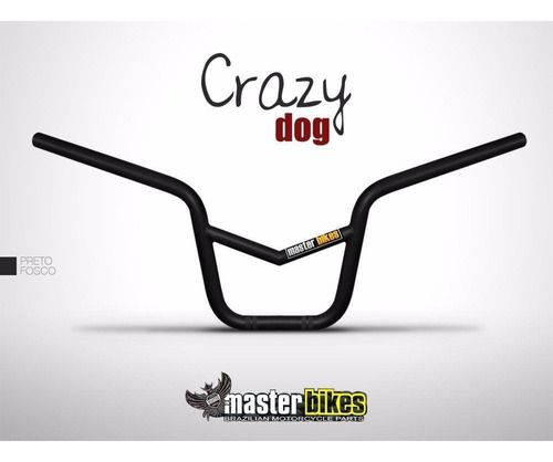 Guidao Master Crazy Dog C Barra Titan Ybr + Manopla Spencer