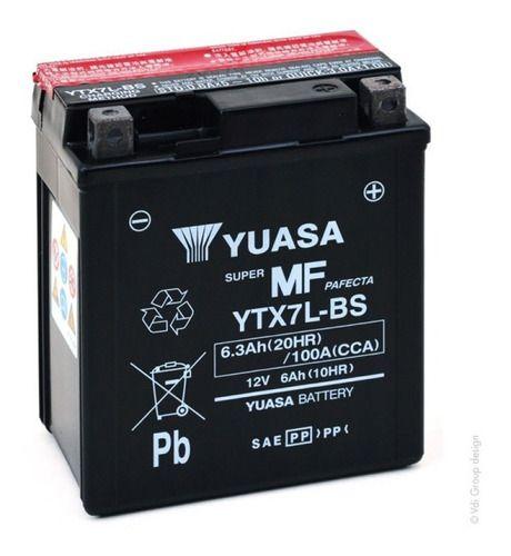 Bateria Ytx7l-bs Cb 600f Hornet
