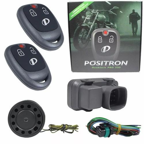 Alarme Moto Positron Duoblock G8 Pro 350 Universal Presença
