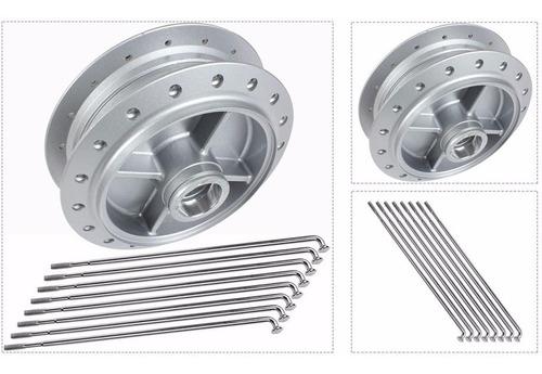 Aro Roda Traseiro + Cubo E Raios Traseiro Titan / 150