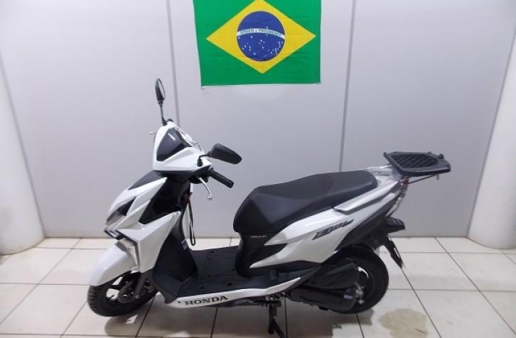 BAGAGEIRO MODELO MACIÇO HONDA ELITE 125 2020
