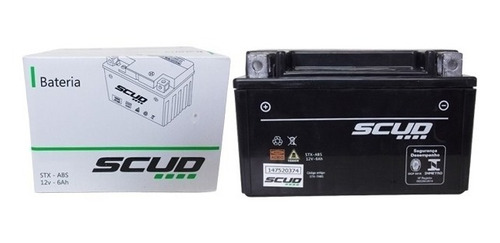Bateria Stx7a-bs Burgman 125 An/ Daelim 125 Ns / Vz 400