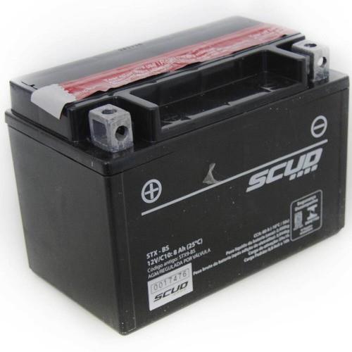 Bateria Stx-bs Platin Cb500 Vt600 Shadow Cbr900 Xj6 Xt600