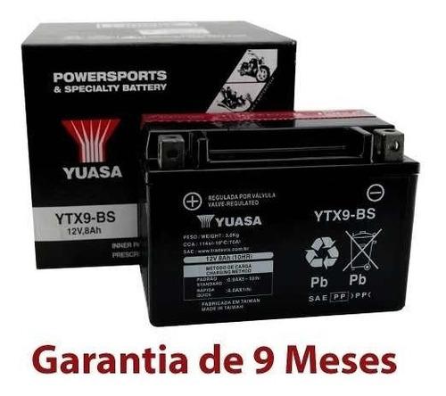 Bateria Ytx9-bs Cb 500 Bandit 600 Bandit 650 Xt 600