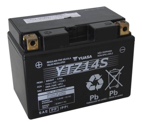 Bateria Ytz14s Cb1300/fz1-fazer/ktm/shadow750 Sel Inmetro