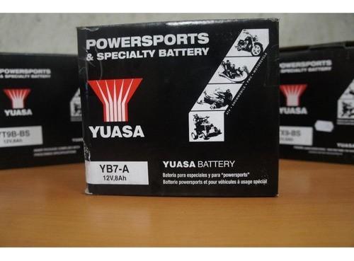 Bateria Yuasa Yb7-a Yes 125 Grs 125 Grs 150i Intruder 125