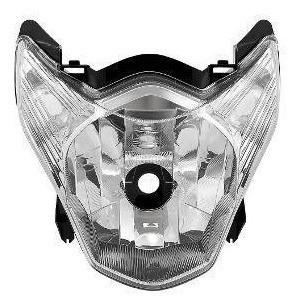 Bloco Óptico Do Farol Com Lampada Titan 150 2011 2012 2013