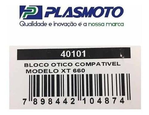 Bloco Óptico Do Farol Yamaha Xt 660r