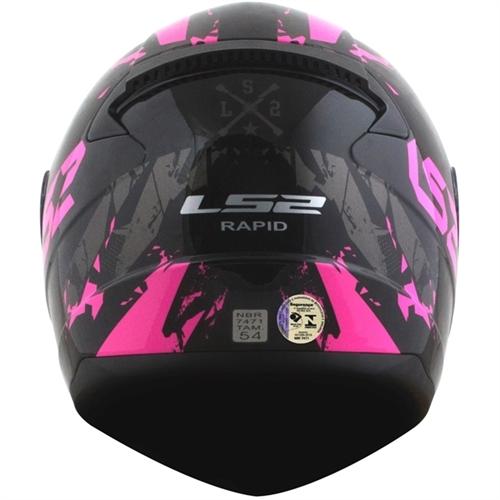 capacete Rapid Palimnesis FF353 - LS2
