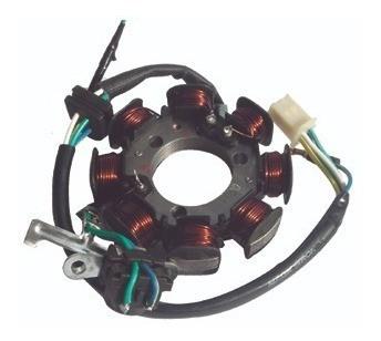Estator Magneto + Oleo E Junta Cg 125 Titan 03/04 / Fan 125