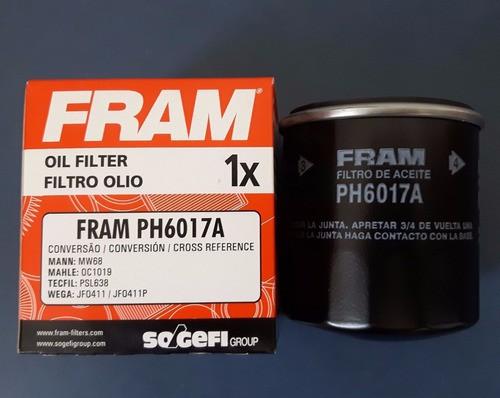 Filtro Óleo Ph6017a Hornet Cb500 Cbr600