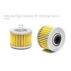 Filtro Oleo Yamaha Ys Fazer 150 Com Mola Vedamotors Fvc041