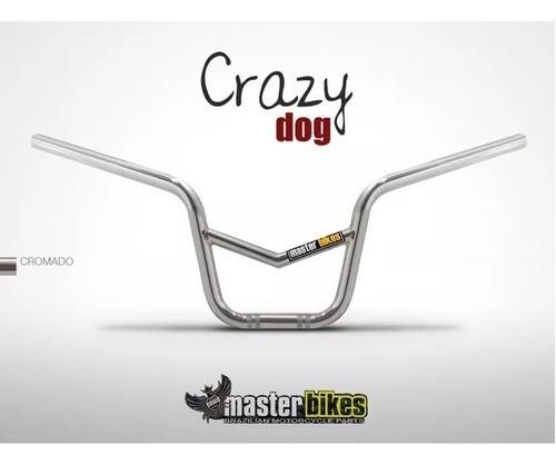 Guidão Master Titan Crazy Dog Com Barra