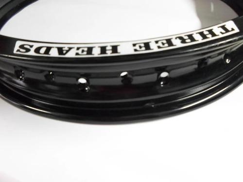 Jogo Aro Aluminio + Raios Inox 4mm Titan 125/150
