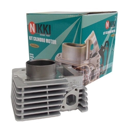 Kit Cilindro Motor Completo Com Retentor E Junta Lead 110