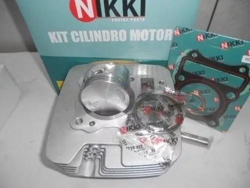 Kit Cilindro Pistão Anéis Juntas Suzuki Yes 125