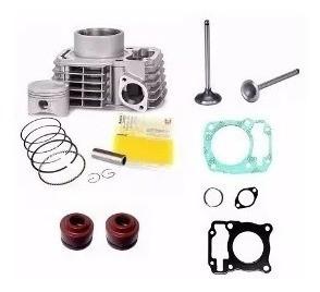 Kit Cilindro Superior Motor Titan 150 C/ Válvulas Retentores