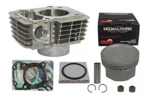 Kit Cilindro Titan 190cc Titan 150 04/14 Fan 150 Bros 150