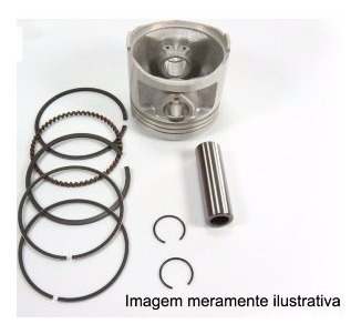 Kit Pistão E Aneis YBR125 XTZ125 FACTOR125 STD
