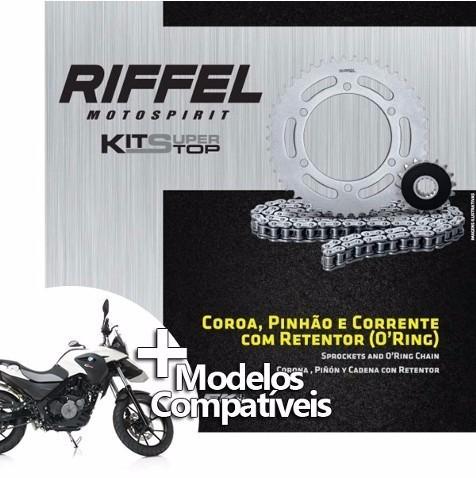 Kit Relação Bmw F-650 Gs (99-07) / G-650 Gs (10-15) Riffel