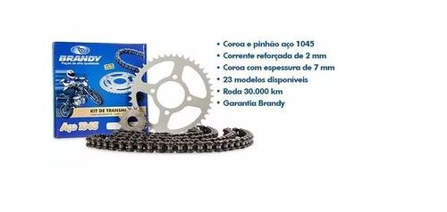 Kit Relação Transmissão Yamaha Xj6 09-15 C/ Retentor Brandy