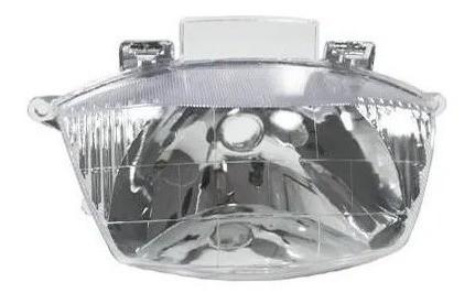 Lampada Farol Super Branca + Bloco Optico Biz 100