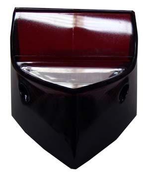 Lente Lanterna Traseira Fume Cb 300 2009/2011 Xre 300 09/11
