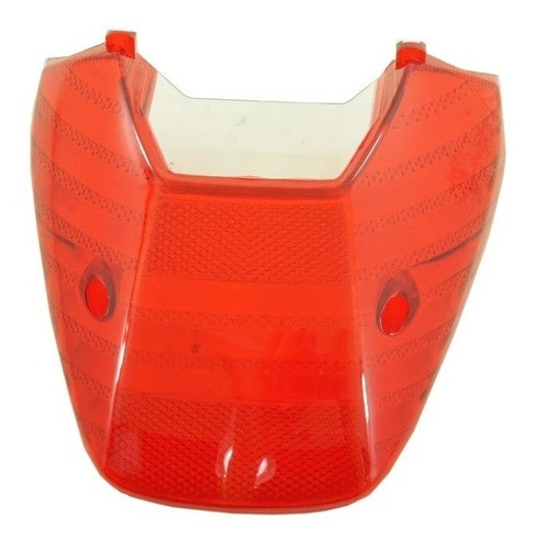 Lente Lanterna Traseira Vermelha Titan 150 2004 A 2008