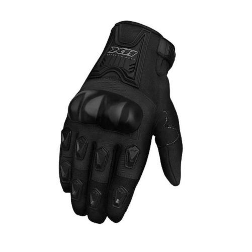 Luva Blackout Com Proteção Moto Bike Motocross
