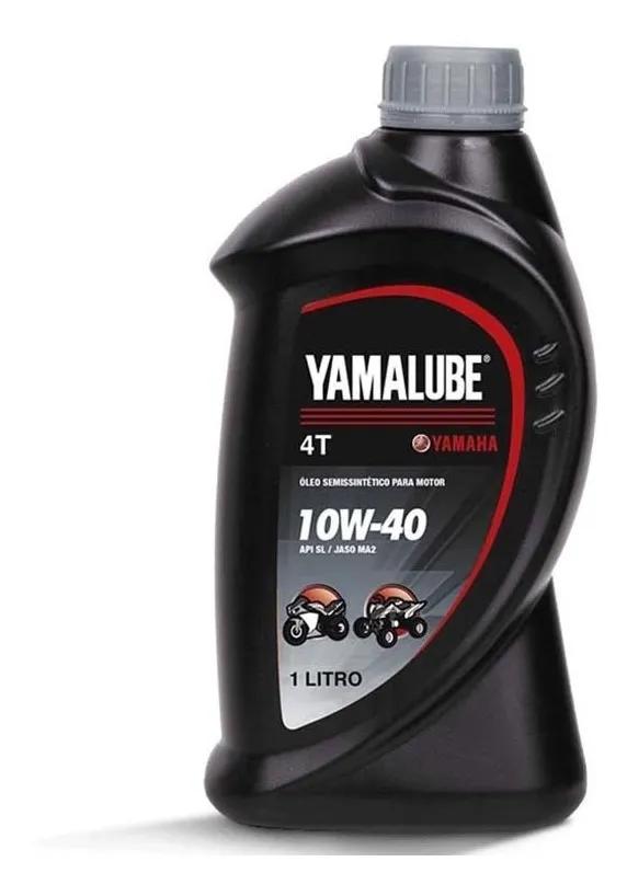 Óleo Yamalube 10w40 Api Sl 4t Semissintético 1 Litro