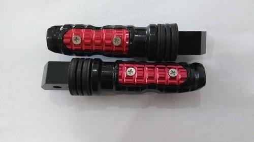 Pedaleira Tipo Esportiva Par Cg 125 Titan Vermelha