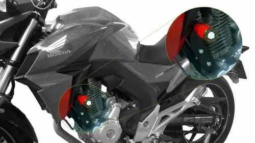 Protetor Slider Cbx 250 Twister 2015 Vermelho