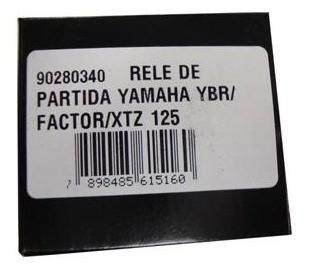 Rele De Partida Ybr 125 / Factor 125 / Xtz 125