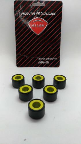 Rolete Contra Peso Embreagem Pcx 150 Jg 6 Pecas