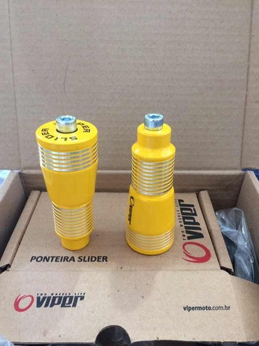 Slider New Snake Cb Twister 250 Nova Amarelo - VIPER