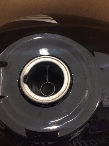 Tanque Combustível Cg 150 Fan / Titan Mix Preto - Original