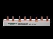 Barramento Fase para Disjuntor DIN 12 pinos 80A