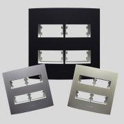Placas 4x4  com suporte Linha Inova Pro Class