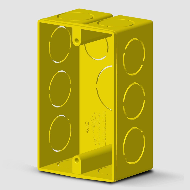 Caixa de alvenaria 4x2