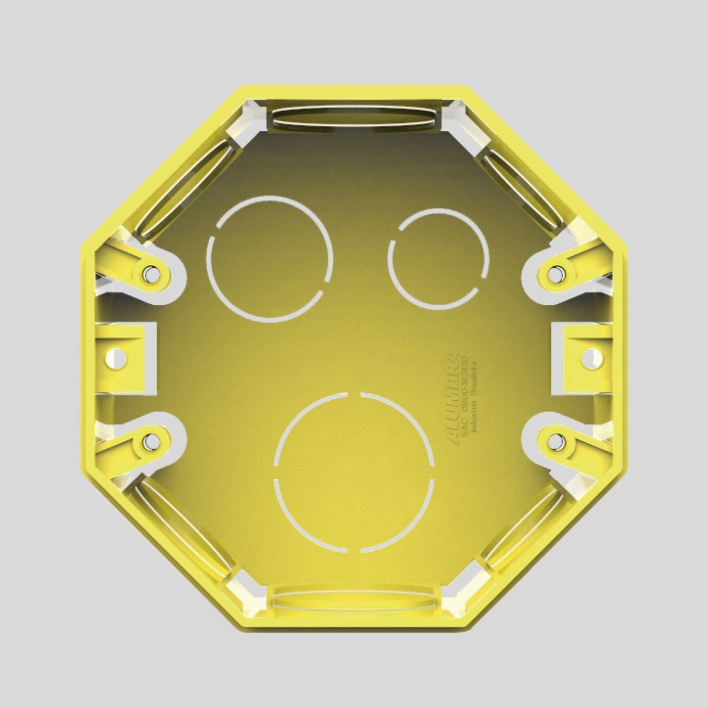 Caixa de alvenaria Octagonal Sextavada 4x4
