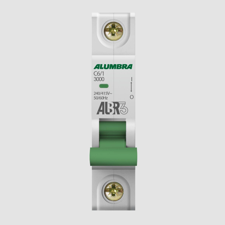 Disjuntores Mopolares 6 até 63A - Alumbra