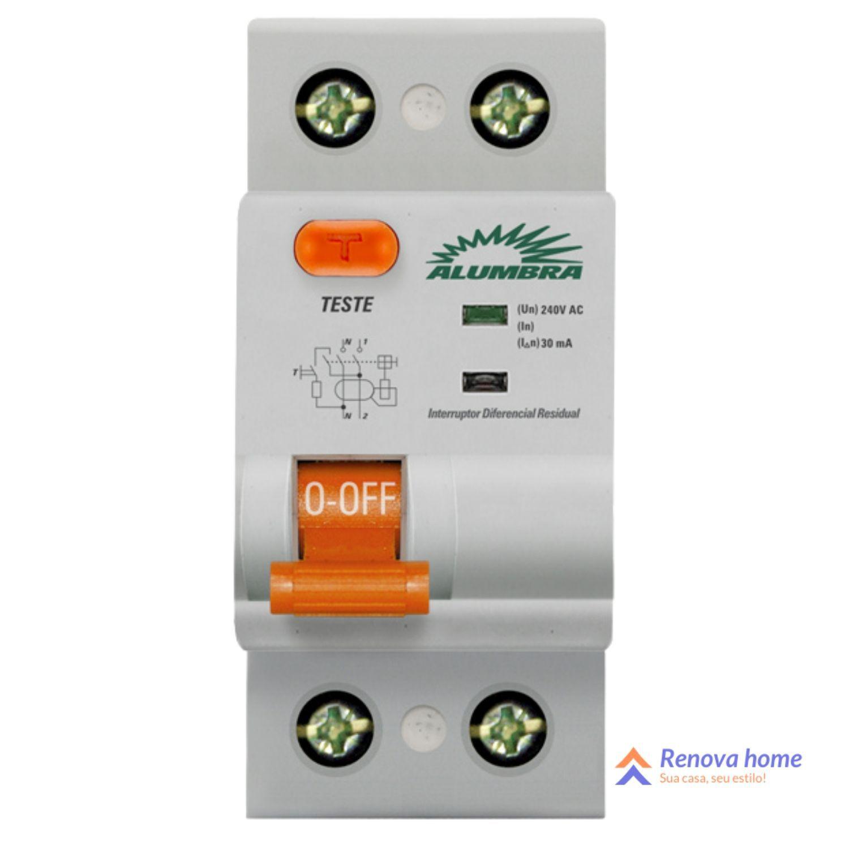 Interruptores Diferencial Residual Bipolar 30mA de 25A a 100A