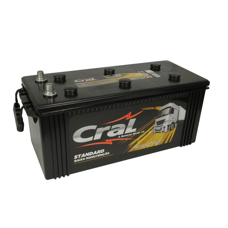 Bateria Cral Standard CSB180D – Scania / Volvo